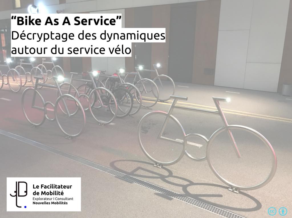 """[Conférences] – """"Bike as a service"""" – Décryptage des dynamique autour du service vélo"""