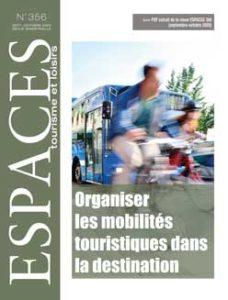 """[Revue Espace Tourisme] – Article """"La révolution des mobilités touristiques est en marche !"""""""